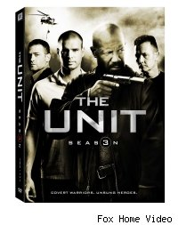 The Unit season 3 dvd