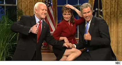 McCain, Palin, Bush