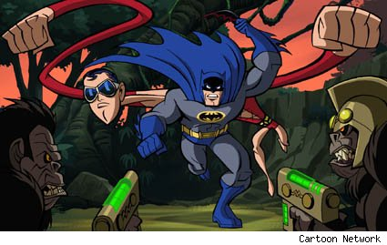 Batman The Brave and the Bold Plastic Man Dinosaor Island