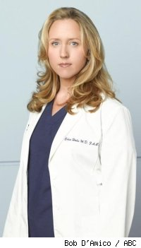 Brooke Smith of Grey's Anatomy
