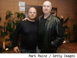 (L-R): Michael Chiklis and Shawn Ryan