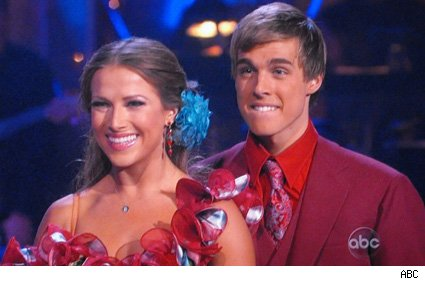 Edyta Silwinska and Cody Linley - Dancing With The Stars