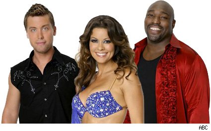Lance Bass, Brooke Burke, Warren Sapp - Dancing With The Stars