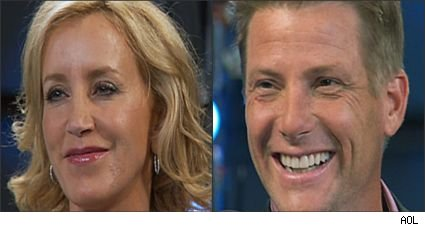 Felicity Huffman and Doug Savant