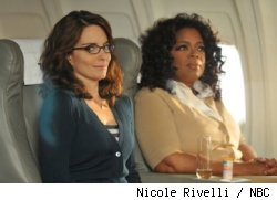 Tina Fey and Oprah