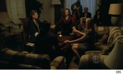 seance scene from The Mentalist: Seeing Red