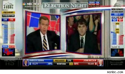MSNBC election coverage