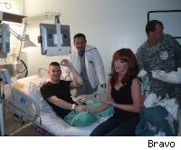Kathy at Walter Reed