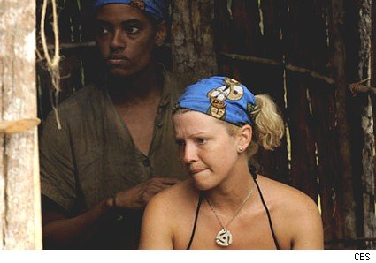 Cyrstal and Sugar on Survivor Gabon