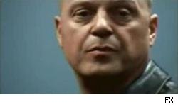 Michael Chiklis hopes Vik Mackey will live again in a big screen version of The Shield.