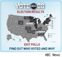 Coverage of election 2008 by ABC News? Eh.