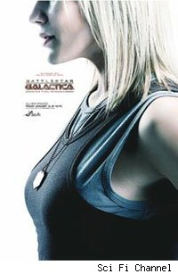 battlestar galactica season 4.5 poster starbuck