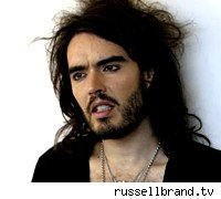 Russell Brand, quirky and funny, too