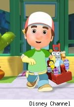 Yes, Virginia, there is a 'National Flashlight Day'. And, Handy Manny is celebrating.
