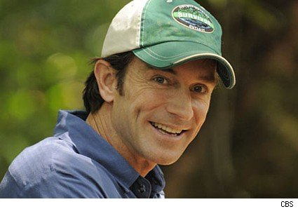 Jeff Probst, the host of Survivor
