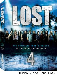 Lost: The Complete Fourth Season DVD Set