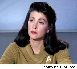 Majel Barret-Roddenberry Star Trek computer voice