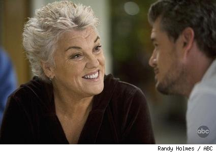 Tyne Daly and Eric Dane