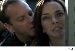 Kiefer Sutherland and Annie Wersching