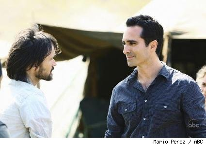 Jeremy Davies and Nestor Carbonell