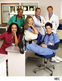 Scrubs season 1 cast photo