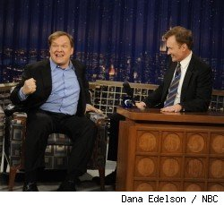 Andy Richter and Conan O'Brien