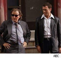 Harvey Keitel and Jason O'Mara in Life on Mars