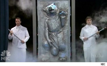 Masturbating Bear in Carbonite