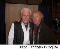 Robert Culp and William Katt