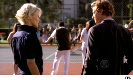 Margerite MacIntyre and Simon Baker on The Mentalist