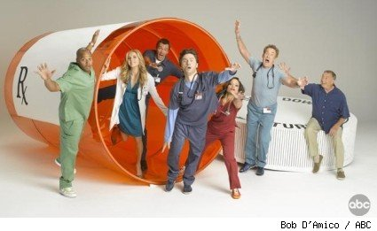 Scrubs season 8 cast photo