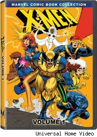 x-men dvd animated