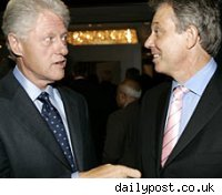 Bill Clinton & Tony Blair