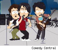The South Park-ized Jonas Brothers