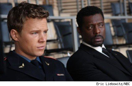 Christopher Egan and Eammon Walker in NBC's