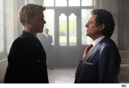 Christopher Egan and Ian McShane in Kings