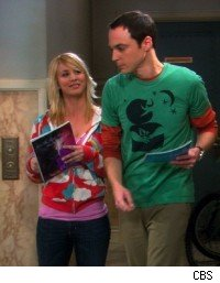 Penny and sheldon
