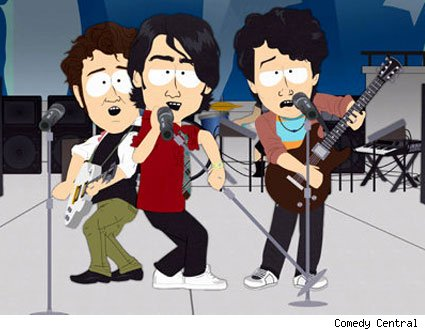 The Jonas Brothers on South Park