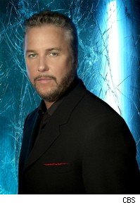 Grissom in blue