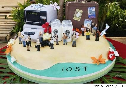 The Lost 100th episode cake by 'Ace of Cakes' baker Duff Goldman.