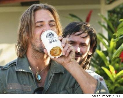 Josh Holloway and Jeremy Davies