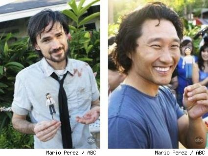 Jeremy Davies and Daniel Dae Kim