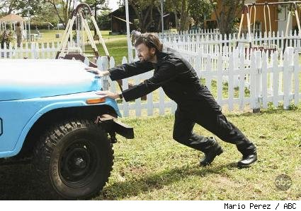 Jeremy Davies as Daniel Faraday on 'Lost.'