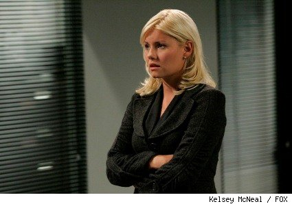 Elisha Cuthbert as Kim Bauer on '24.'