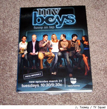 My Boys - season 3 press DVD