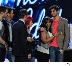 American Idol - Lil Rounds and Anoop Desai go home