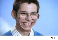 Bill Haverchuck or Martin Starr from Freaks and Geeks