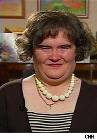 Susan Boyle on Larry