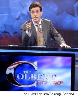 Stephen Colbert, host of the Colbert Report