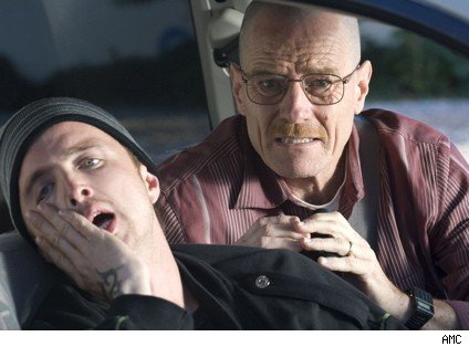 Breaking bad in the car